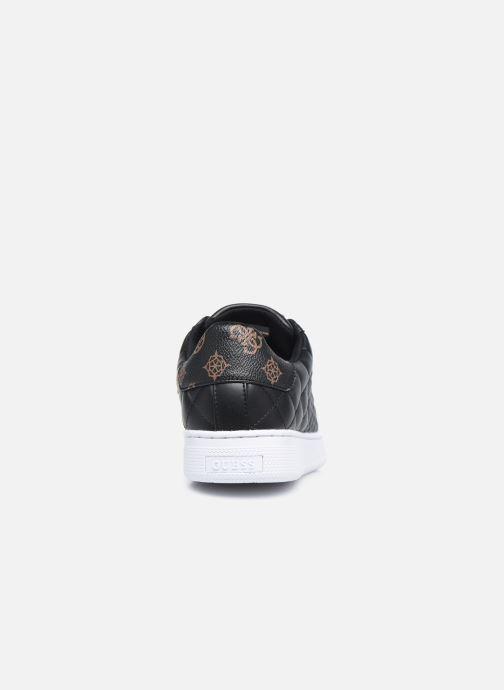 Sneakers Guess FL7REE FAL12 Nero immagine destra