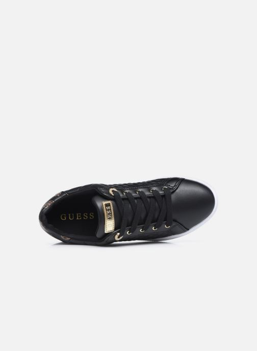 Sneakers Guess FL7REE FAL12 Nero immagine sinistra