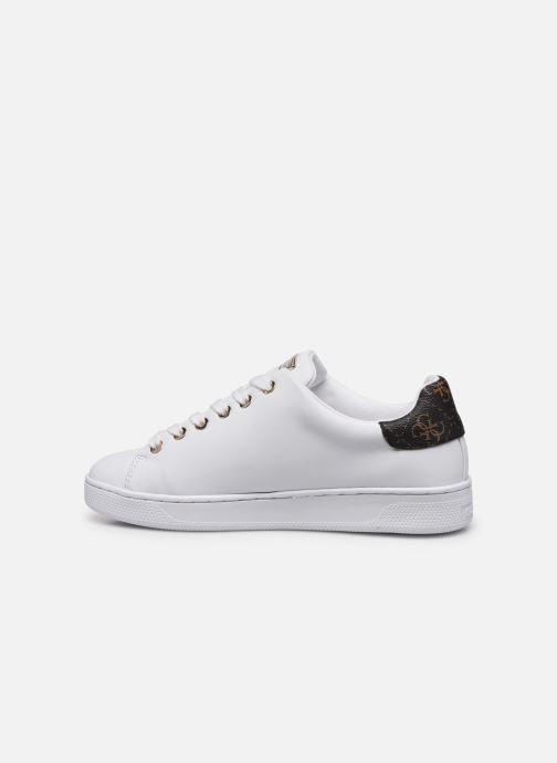 Sneakers Guess FL7RAO ELE12 Bianco immagine frontale