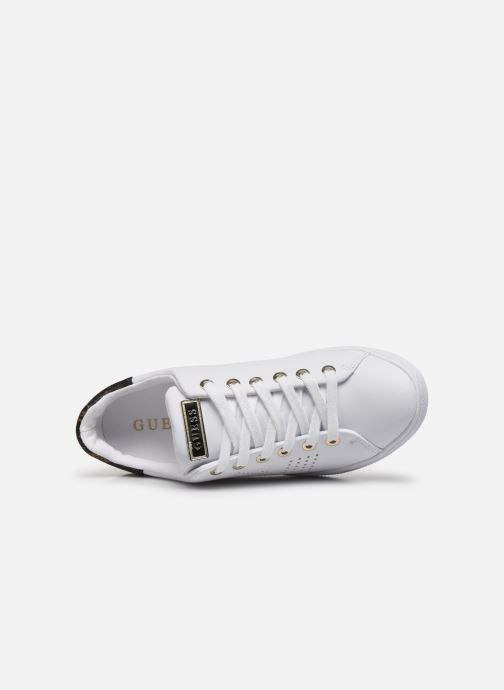 Sneakers Guess FL7RAO ELE12 Bianco immagine sinistra