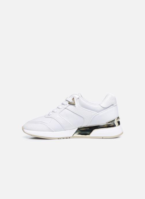 Sneaker Guess FL7MOV ELL12 weiß ansicht von vorne