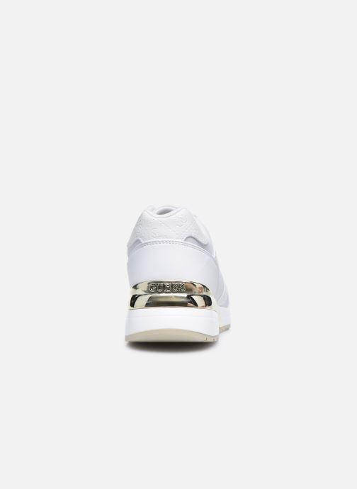Sneaker Guess FL7MOV ELL12 weiß ansicht von rechts