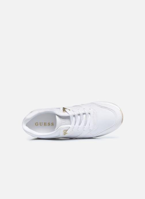 Sneaker Guess FL7MOV ELL12 weiß ansicht von links