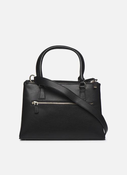 Handtaschen Guess BECCA SATCHEL schwarz ansicht von vorne