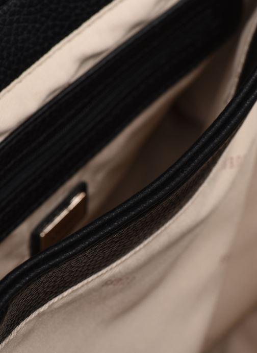 Handtaschen Guess BECCA SATCHEL schwarz ansicht von hinten