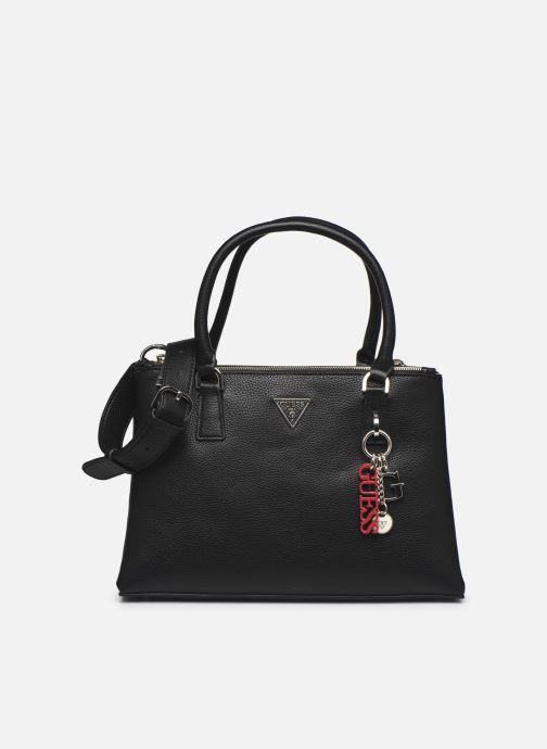 Handtaschen Guess BECCA SATCHEL schwarz detaillierte ansicht/modell