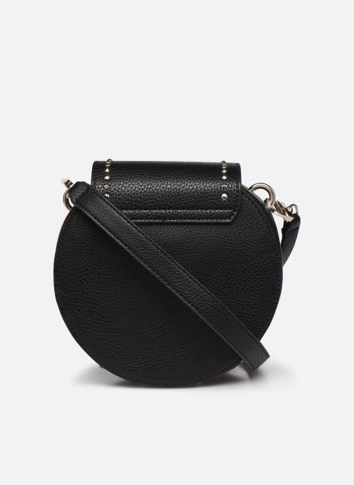 Handtaschen Guess BELLE ISLE MINI ROUND CASE schwarz ansicht von vorne