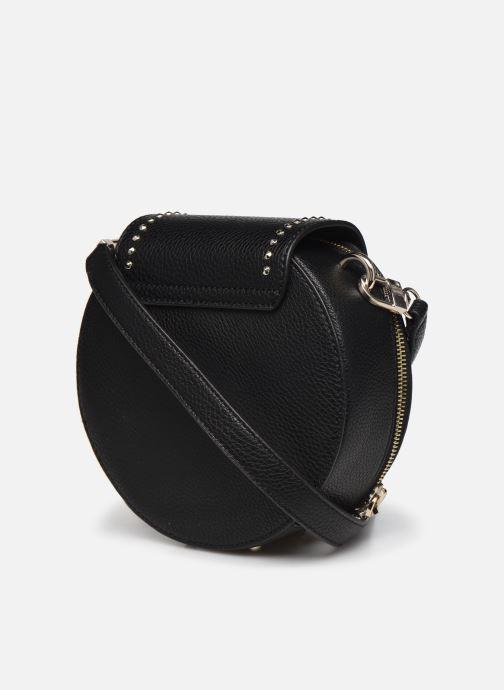 Handtaschen Guess BELLE ISLE MINI ROUND CASE schwarz ansicht von rechts
