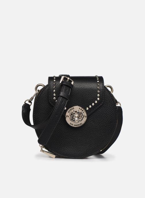 Handtaschen Guess BELLE ISLE MINI ROUND CASE schwarz detaillierte ansicht/modell