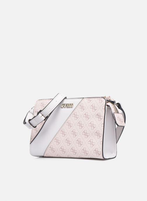 Handtaschen Guess CAMY MINI CROSSBODY rosa schuhe getragen