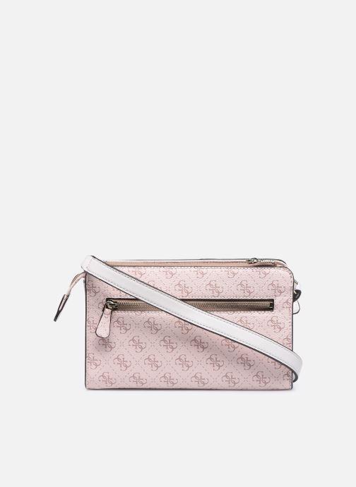 Handtaschen Guess CAMY MINI CROSSBODY rosa ansicht von vorne