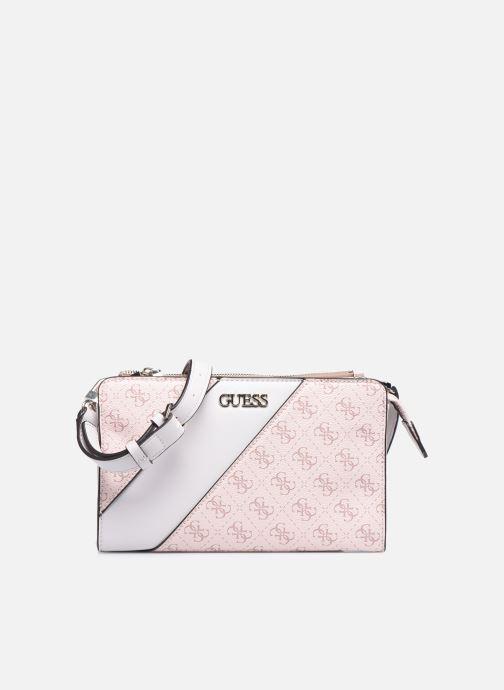 Handtaschen Guess CAMY MINI CROSSBODY rosa detaillierte ansicht/modell