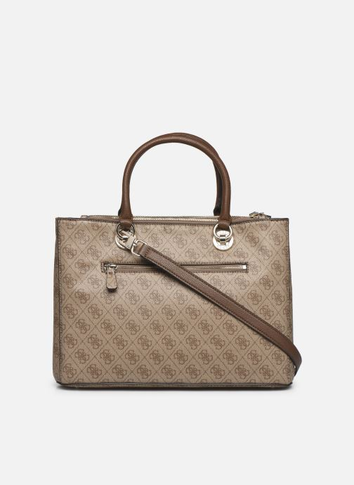 Sacs à main Guess CATHLEEN CARRYALL Marron vue face