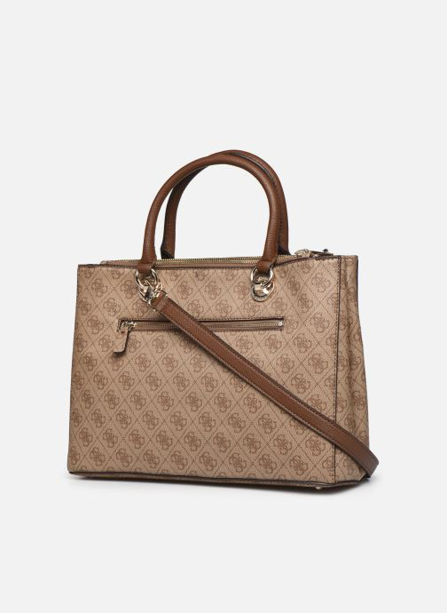 Sacs à main Guess CATHLEEN CARRYALL Marron vue droite