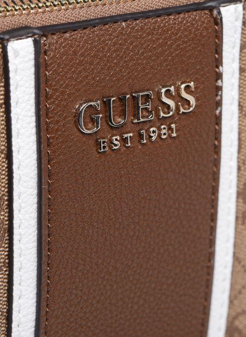 Bolsos de mano Guess CATHLEEN CAMERA BAG Marrón vista lateral izquierda