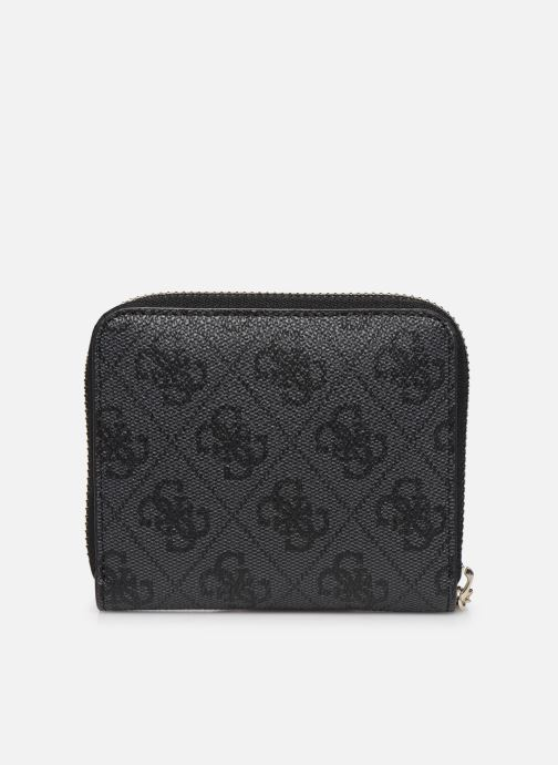 Petite Maroquinerie Guess CATHLEEN SMALL ZIP AROUND Noir vue face