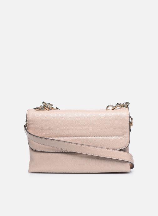 Bolsos de mano Guess CHIC SHINE SHOULDER BAG Rosa vista de frente
