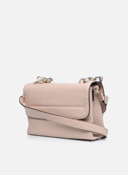 Bolsos de mano Guess CHIC SHINE SHOULDER BAG Rosa vista lateral derecha