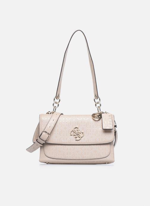 Bolsos de mano Guess CHIC SHINE SHOULDER BAG Rosa vista lateral izquierda