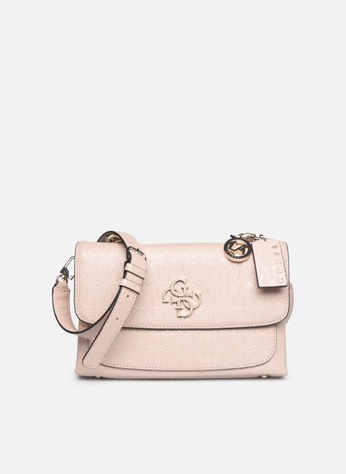 Bolsos de mano Guess CHIC SHINE SHOULDER BAG Rosa vista de detalle / par