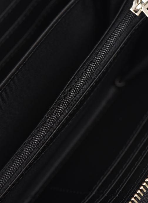 Petite Maroquinerie Guess CHIC SHINE LARGE ZIP AROUND Noir vue derrière