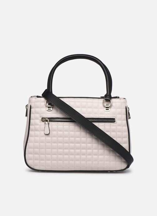 Sacs à main Guess MATRIX SATCHEL Beige vue face
