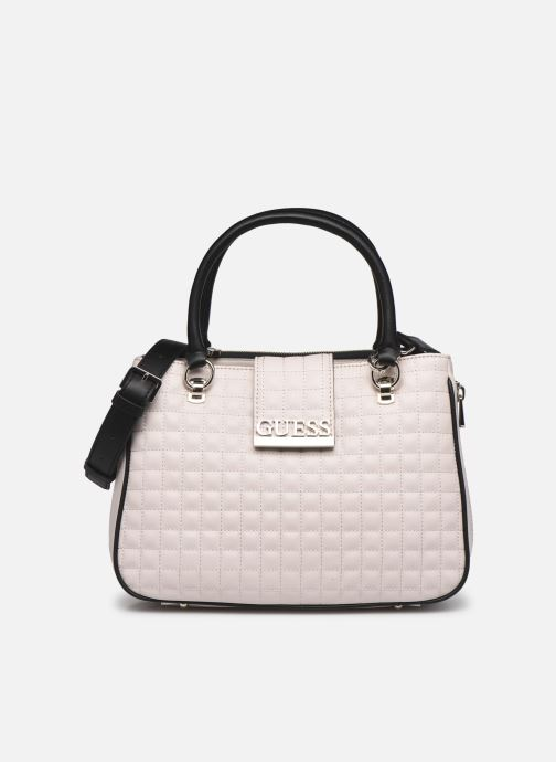 Sacs à main Guess MATRIX SATCHEL Beige vue détail/paire