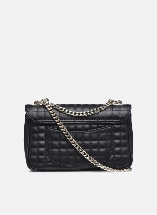 Handtaschen Guess MATRIX CROSSBODY schwarz ansicht von vorne