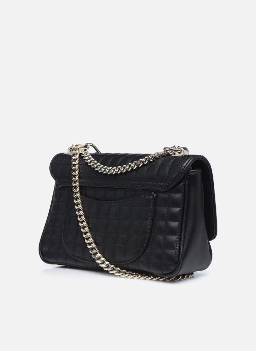 Handtaschen Guess MATRIX CROSSBODY schwarz ansicht von rechts
