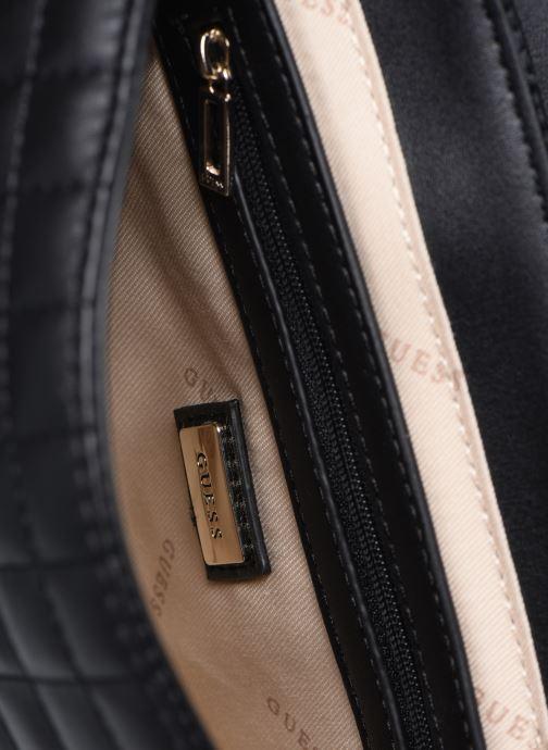 Handtaschen Guess MATRIX CROSSBODY schwarz ansicht von hinten