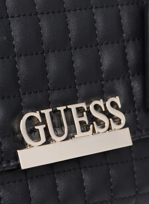 Bolsos de mano Guess MATRIX CROSSBODY Negro vista lateral izquierda