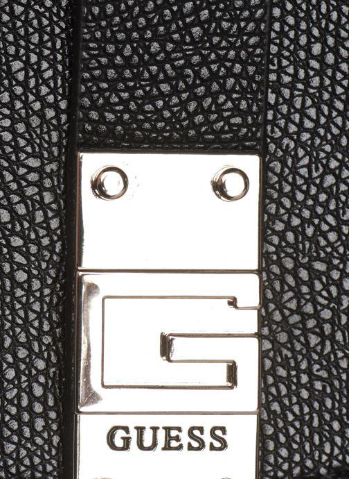 Bolsos de mano Guess NEREA TOP HANDLE FLAP Blanco vista lateral izquierda