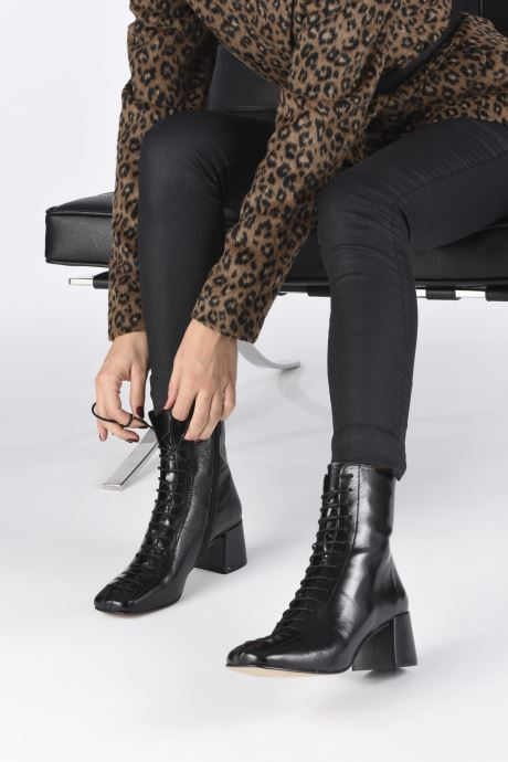 Bottines et boots Jonak ADELA Noir vue bas / vue portée sac