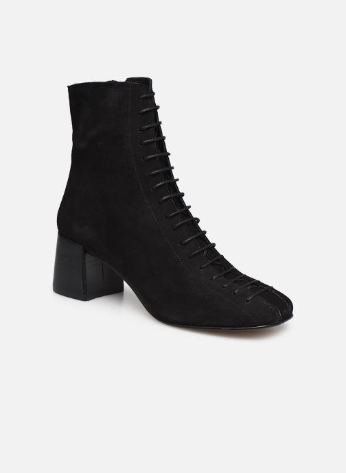 Boots en enkellaarsjes Jonak ADELA Zwart detail