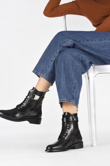 Stiefeletten & Boots Jonak DAIO schwarz ansicht von unten / tasche getragen