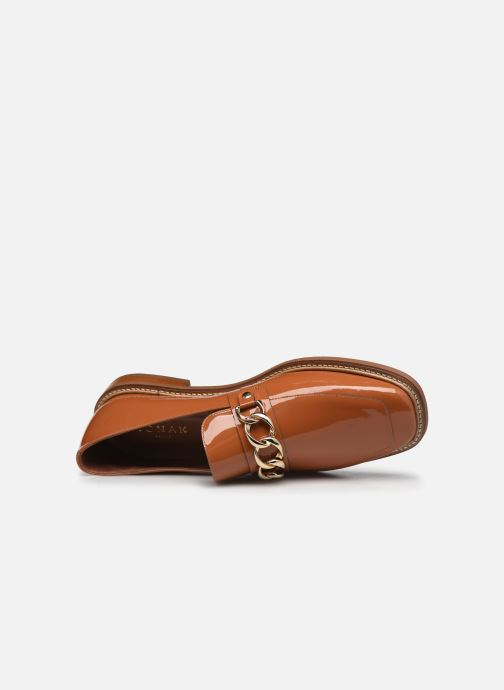 Slipper Jonak DIONETTE orange ansicht von links