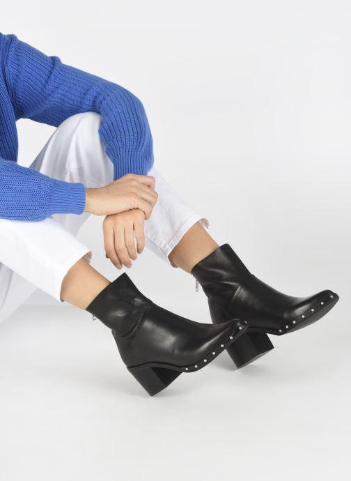 Bottines et boots Jonak DACCA Noir vue bas / vue portée sac