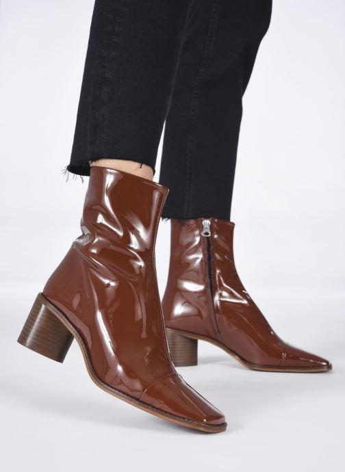 Stiefeletten & Boots Jonak BRISEIS braun ansicht von unten / tasche getragen