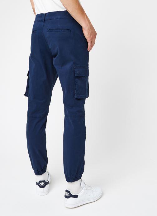 Vêtements Only & Sons Onscam Stage Cargo Bleu vue portées chaussures