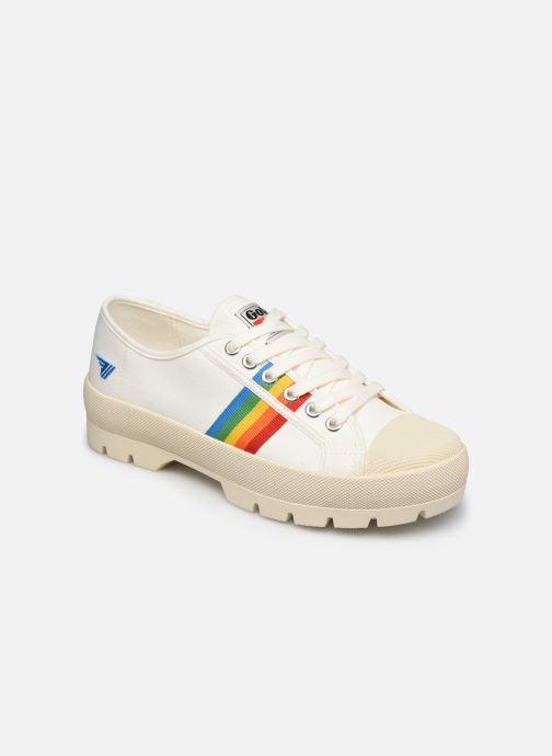 Sneaker Gola Coaster Peak Rainbow weiß detaillierte ansicht/modell