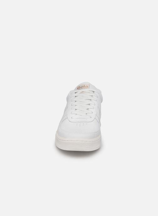 Sneakers Gola Grandslam Leather M Bianco modello indossato