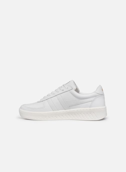 Sneakers Gola Grandslam Leather M Bianco immagine frontale