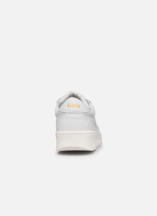 Sneakers Gola Grandslam Leather M Bianco immagine destra