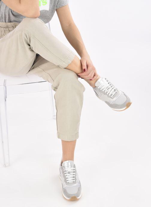 Sneaker Piola Vida W silber ansicht von unten / tasche getragen