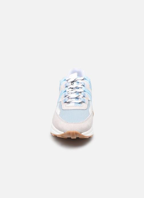 Sneakers Piola Ica W Azzurro modello indossato