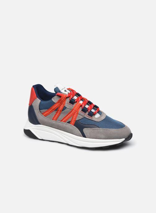 Sneakers Piola Ica W Rood detail