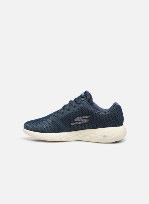 Chaussure Femme Grande Remise Skechers Go Run 600 Refine Bleu Chaussures de sport 453734