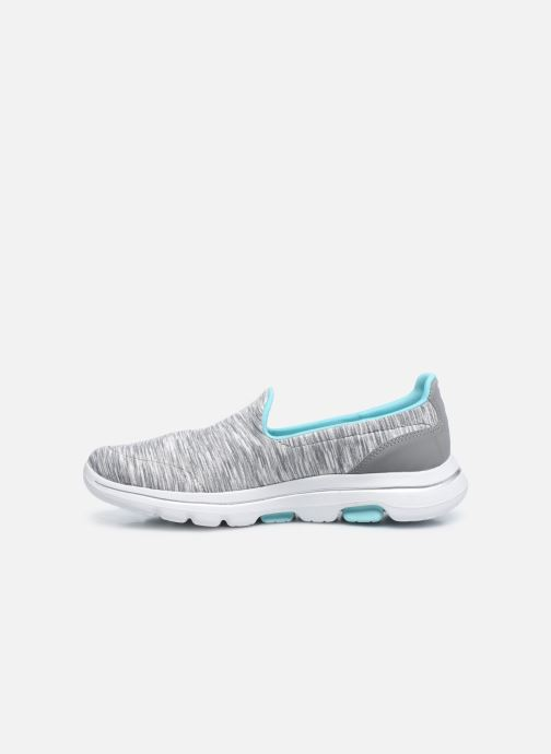 Baskets Skechers Go Walk 5 Fantastic Gris vue face