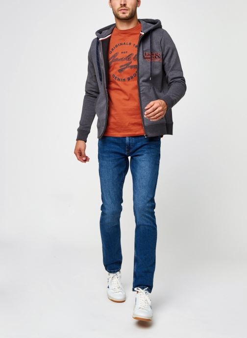 Vêtements Only & Sons Onsweft Life Regular Bleu vue bas / vue portée sac