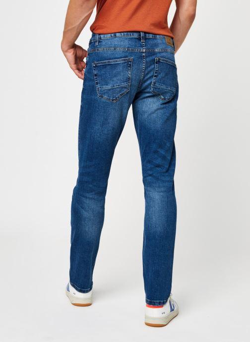 Vêtements Only & Sons Onsweft Life Regular Bleu vue portées chaussures